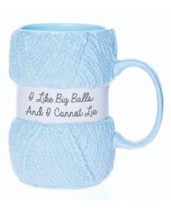 Knitting Mug - Big Balls