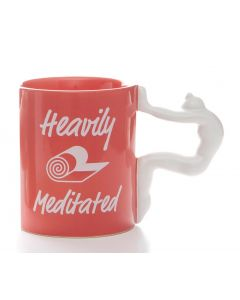 Yoga Mug - Heavily Meditated