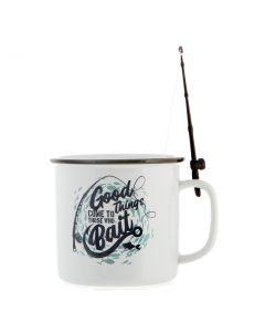 Fishing Mug - Good Things Come