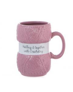 Crochet Mug - Holding It Together