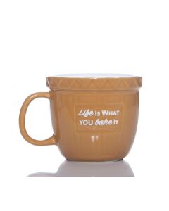 Baking Bowl Mug - Life Is What You Bake