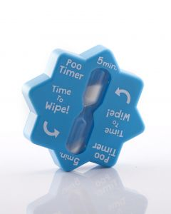 Poo Timer For Your Bathroom