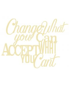 Chatterwall - Change What You Can, Accept What You Cant