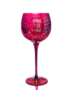OPULENT WINE GLASS - NINE TILL WINE
