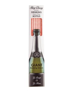 GIANT PAPER STRAW - PROSECCO