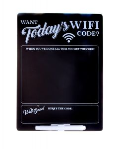 WIFI CODE ACCESS BOARD